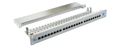 RJ45 - Verteilerfeld Klasse E<sub>A</sub>, 10-GbE , Serie OmniFixPro