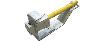 Zubehör E-Stone Serie, Hutschienenadapter / 2Port Mini-Wandgehäuse