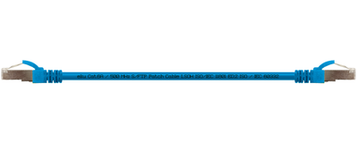 CU - Patchkabel, Serie E@syLink500, Cat.6<sub>A</sub> / 500 MHz