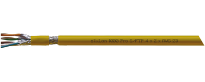 ekuLan 1000Pro, Installationskabel, Cat. 7<sub>A</sub>, S-FTP J-02YSCH ...