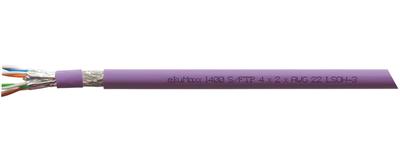 ekuMaxx 1400, LSOH-3 Installationskabel, Cat. 7<sub>A+</sub> , S-FTP J-02YSCH ...