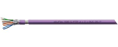 ekuFlex 600, Anschlusskabel, Cat. 7, S-FTP J-02YS(St)CH ...