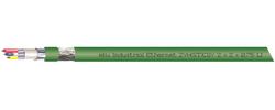 Industrial Ethernet, 2YH(ST)C11Y 2x2x0,75/1,5-100 LI GN VZN FRNC