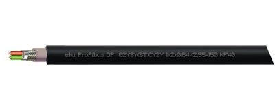 Profibus DP, 02YSY(ST)CY2Y 1x2x0,64/2,55-150 KF40
