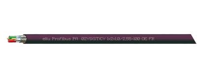 Profibus PA, 02YS(ST)CY 1x2x1,0/2,55-100 OE FR