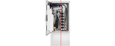 LWL - Kabelverzweiger, NVt 672, Serie 2.0