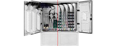 LWL - Kabelverzweiger, NVt 11144, Serie 2.0
