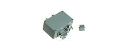 Profinet Anschlusskomponenten, HAN 3A® Anschlußdose Cat.6, 2x 8-adrig