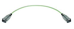 Profinet Anschlusskomponenten, HAN 3A® Systempatchkabel Cat.5, 4-adrig