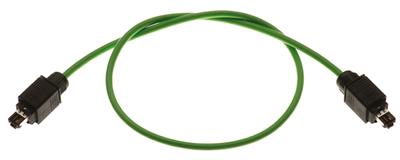 Profinet Anschlusskomponenten, HAN® PushPull Systempatchkabel Cat.5, 4-adrig