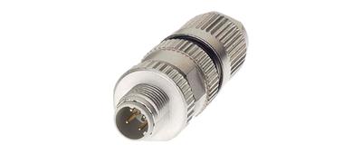 Profinet Anschlusskomponenten, HARAX® M12 Steckverbinder Cat.5, 4-adrig