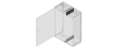 Zubehör für modulare Glasfaserwandverteiler Typ II bis V