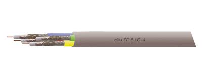 Koaxialkabel, SC 6 HS-4