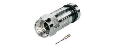 2teiliger F-Kompressions-Stecker, FCL 72