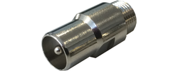 Adapter F-Buchse auf Koax-(IEC), FA 02 / FA 04
