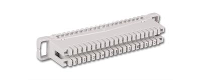 LSA - 10 DA Anschlussleiste / 10 DA Profil-Anschlussleiste