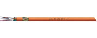 LWL-Außenkabel, A-DQ(ZN)4Y Mini Kabel