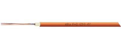 LWL-Außenkabel, A-D(ZN)4Y Micro Kabel für 7/4 mm Röhrchen