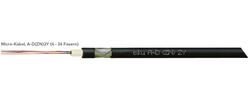 LWL-Außenkabel, A-D(ZN)2Y + A-DQ(ZN)2Y Kabel für 10/6 mm Röhrchen