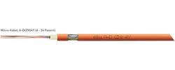 LWL-Außenkabel, A-D(ZN)4Y + A-DQ(ZN)4Y Micro Kabel für 10/6 mm Röhrchen